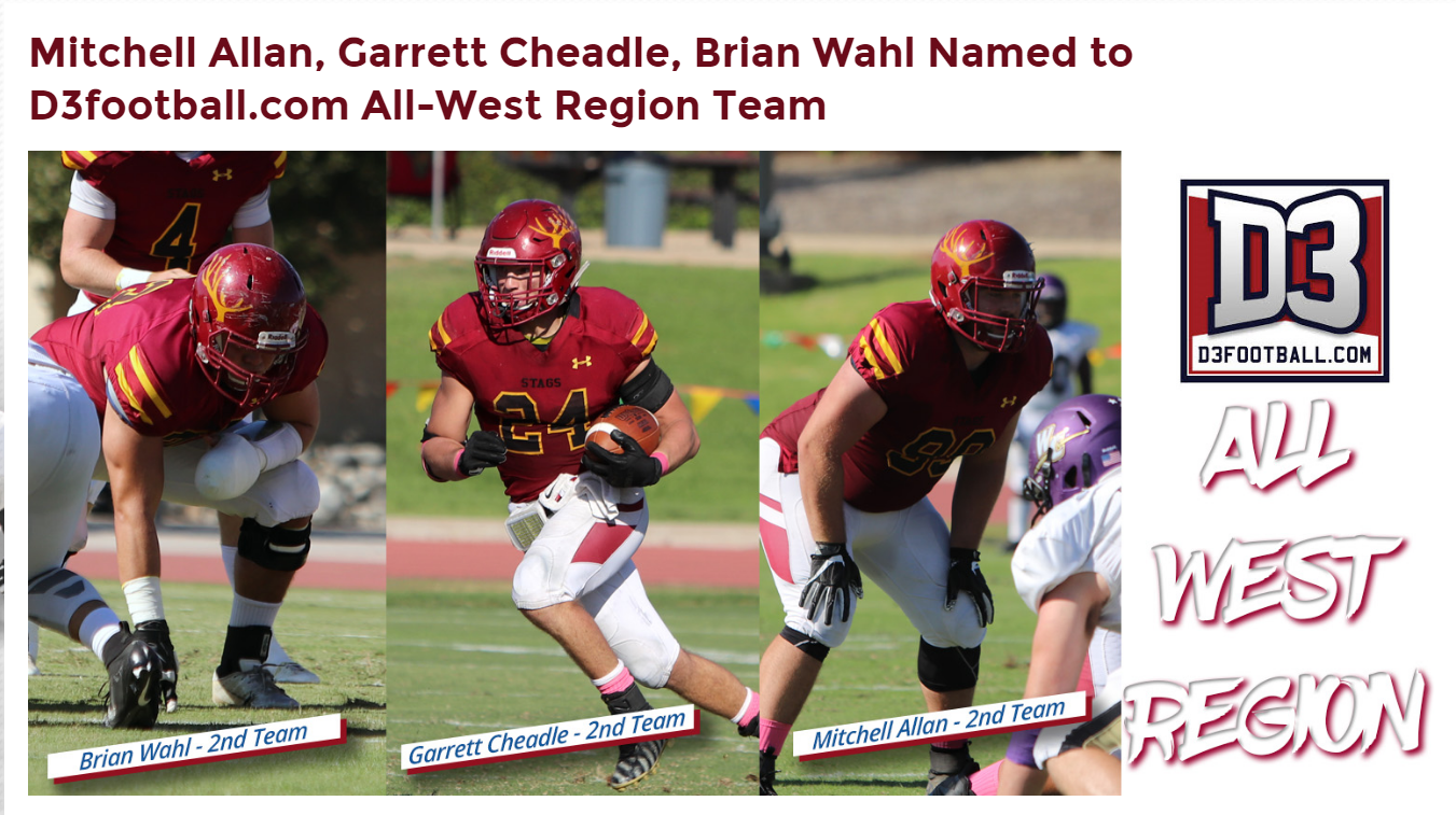 Brian Wahl Named to D3 All West Region Second Team